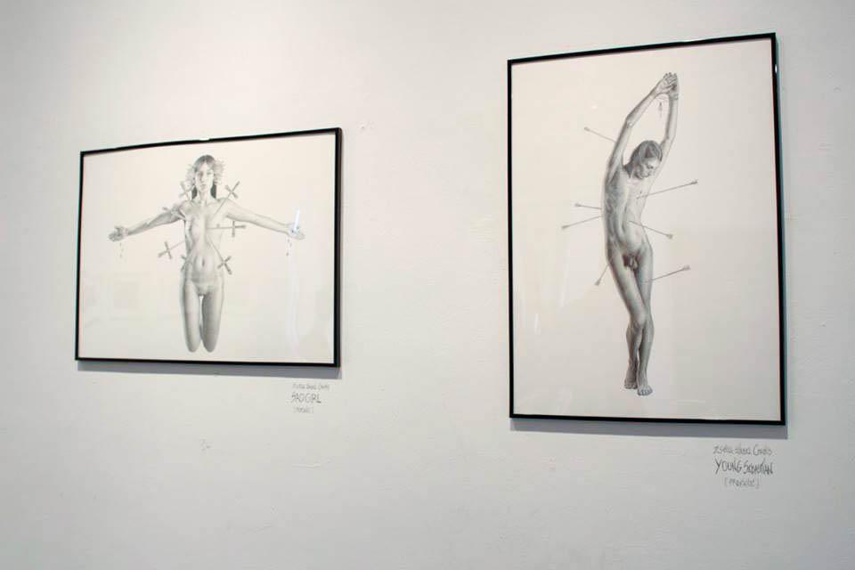 Exhibition JustMAD7 / Facultad de Bellas Artes