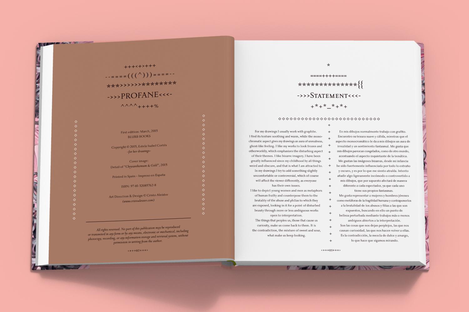 Profane - Book Inner